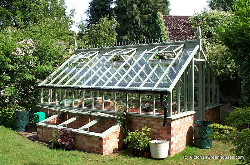 Freestanding Victorian Greenhouses