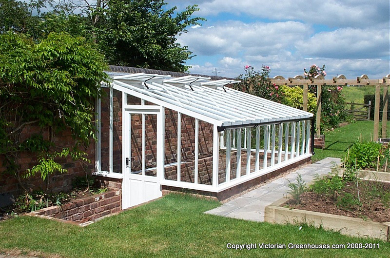 Lean to victorian greenhouses for Build a victorian greenhouse