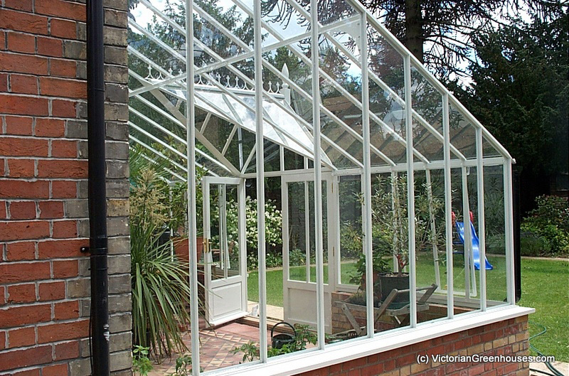 how to make a small lean to greenhouse