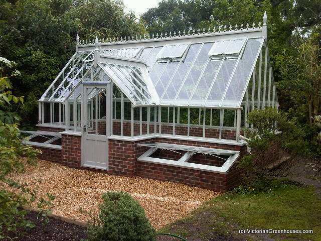 Timber steel victorian greenhouses for Victorian style greenhouse